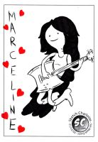 Library Sketch: Marceline by oh-the-humanatee