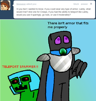 Teleporting Creepers + Armored Enders by Ask-Creeps-and-Lanky