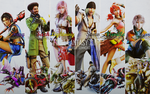 Final Fantasy XIII: Wallpaper by areopoli
