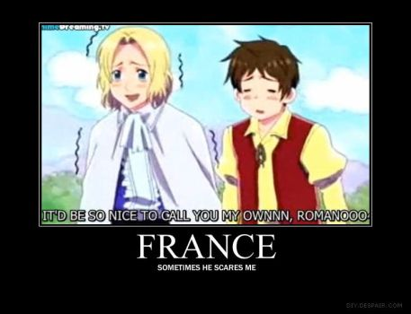 Hetalia : France Motivation by Mad-of-course