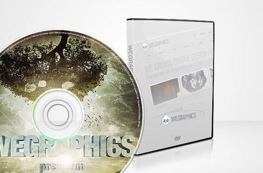Dvd Case Mock-up by wegraphics