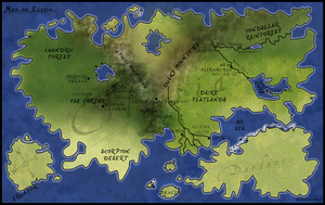 Map of Elysia by Freesong