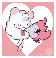 Swirlix and Spritzee by PsykoaktiveFantasi