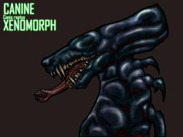Canine Xenomorph by Anuwolf