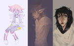drawing some ocs by gaerss
