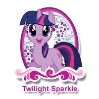 Hub Twilight Sparkle by JulietRarity