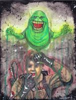 Ghostbusters by greyfoxdie85