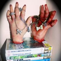 Severed hands-Jewellery Holders. by Makeupbyashh