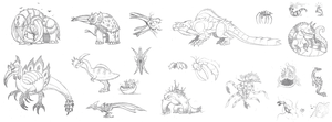 The MH Concepts That Wouldn't Die! by DinoHunter2