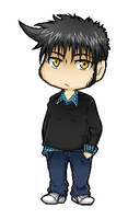 Pixel chibi Ted by Abby-desu