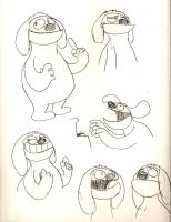 Rowlf Sketches by LimeTH