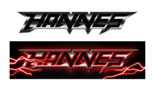 Hannes in Tekken font by kicky