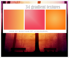 34 gradient textures by Bourniio