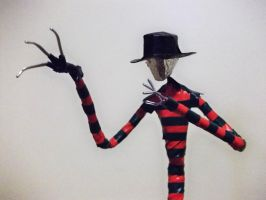 FREDDY KRUEGER in wire by TheWallProducciones