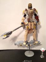 Tabuhra, Toa of Sand WIP 03 by MrBoltTron