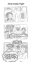 APH Comic: China misses flight by mandachan