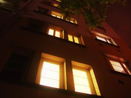 Night windows by Guile93
