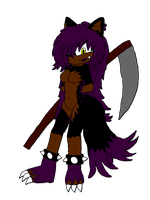 Aeramenthia The Hyena Werewolf by SophieTheYoshi