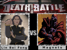 Death Battle: Lin vs Magneto by SpikeJet2736