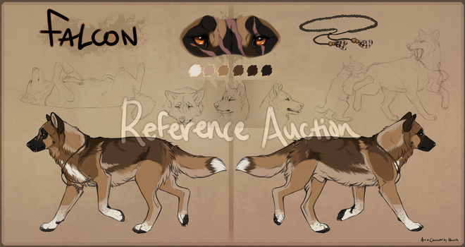 Scarred Wolf Mutt Paypal Auction CLOSED by Hlaorith