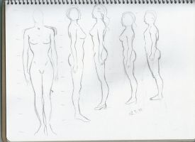 Body structure practice 10 by sophiaan0