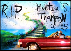 RIP Hunter S Thompson by HighPotency