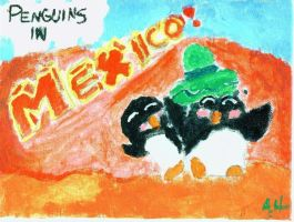 Penguins in Mexico by Falcon0281