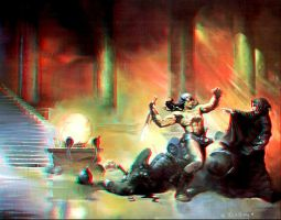 Chamber of Illusions Anaglyph by Geosammy