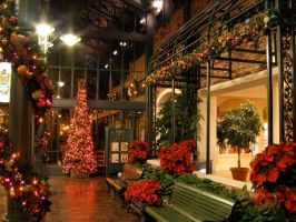 French Quarter Christmas 10 by AreteStock