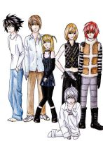Death Note by evilllama-polly