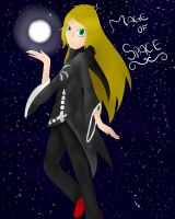 *\*Mage of Space*/* by Monochrome-Colors