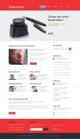 Free Psd Business template by rafimit