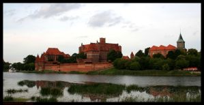 Malbork by EricForFriends