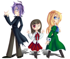 .: Ib, Garry, Mary:. by Uncanny-Illustrator
