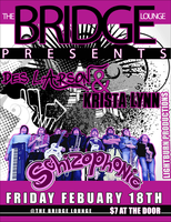 Schizophonic Show Poster by pandorya