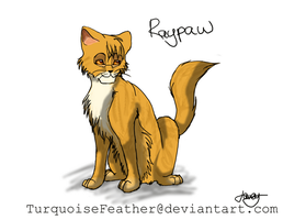Raypaw by TurquoiseFeather