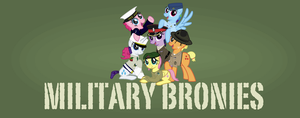 Military Bronies Cover by FirstAwesomePlatoon