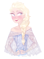 Elsa - Frozen by carmalarma