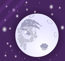 Derpy in the moon by tgolyi