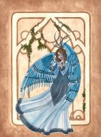 Blue Jay Angel by maina