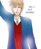 elliot: am I invisible? by watermelonseeds