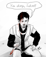 Tony Helps by Batwynn