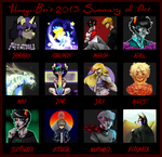2015 Art Summary by Honey--Bee