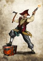Pirate Quartermaster by DLouiseART
