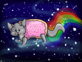 Nyan cat by collie-rado