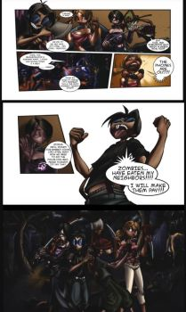 Monster Madness Game Comic Page4 by megabluex