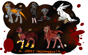 Early Halloween Surprises [REVEAL] by atlas-rabbit