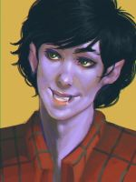 Marshall Lee Vamp Kid by Narasura-of-Kashi