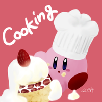 Cooking Kirby by Ro-sa