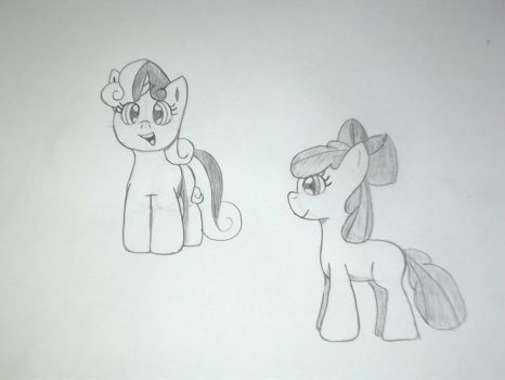 Filly Sketch 1 by CokeZeo